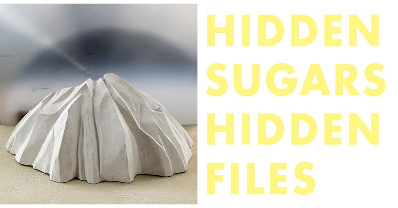 Einladungskarte Hidden Sugars Galerie Obrist 2019