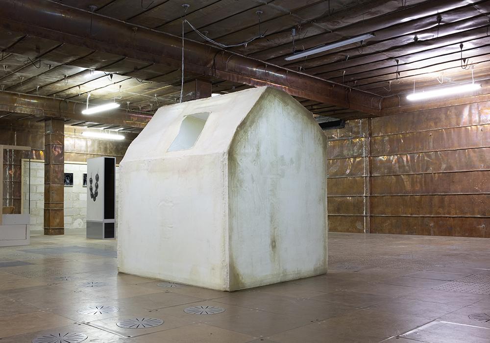 Boveraum in Kupferhalle der Stasi